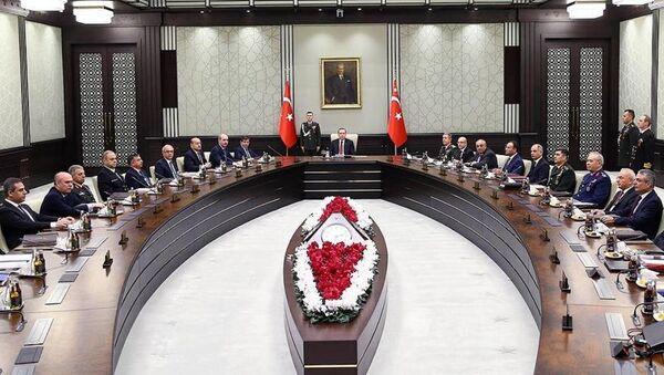 Milli Güvenlik Kurulu'nun (MGK) aralık ayı olağan toplantısı sona erdi. - Sputnik Türkiye