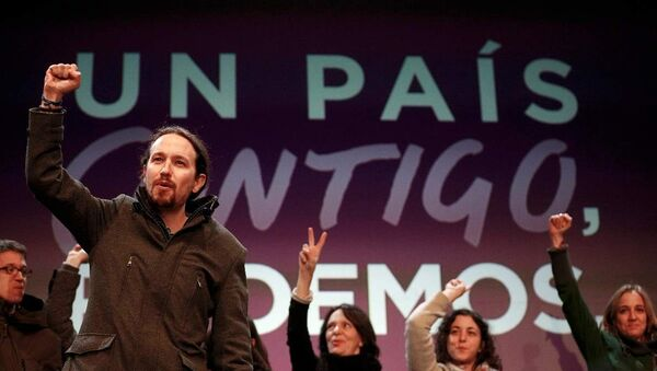 Podemos lideri Pablo Iglesias - Sputnik Türkiye