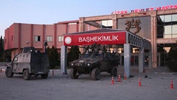 Cizre Devlet Hastanesi - Sputnik Türkiye