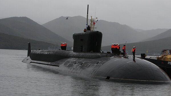 Rusya'nın yeni nükleer gücü 'İmparator 3. Aleksandr' denizaltısı suya indi - Sputnik Türkiye