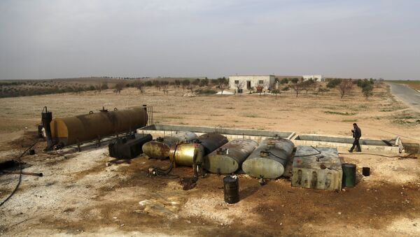 Suriye - Petrol - Sputnik Türkiye