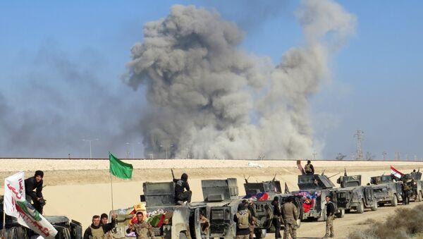 Irak ordusundan Ramadi operasyonu - Sputnik Türkiye