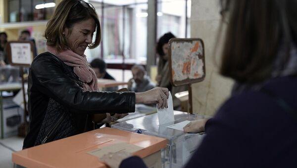 İspanya'da genel seçim - Sputnik Türkiye