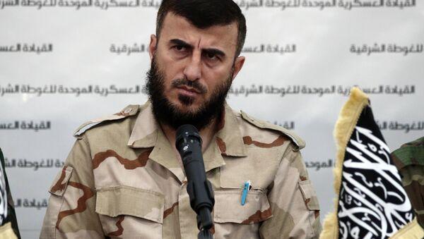 İslam Ordusu lideri Zehran Alluş - Sputnik Türkiye