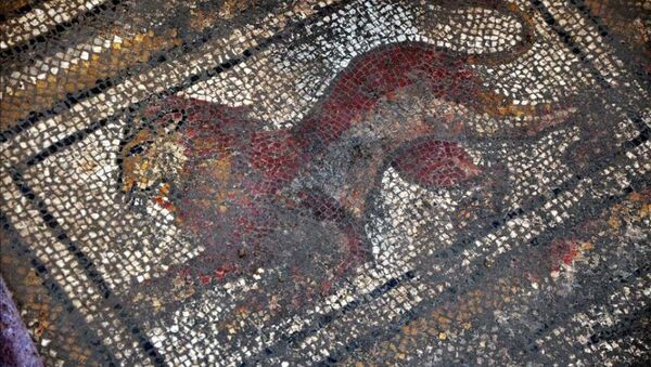 Roma dönemine ait mozaik bulundu - Sputnik Türkiye