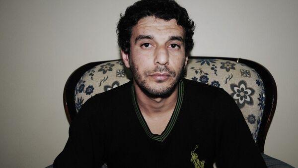 Suriye'de YPG'nin elinde esir olarak bulunan IŞİD'in emirlerinden Kerim Amara - Sputnik Türkiye