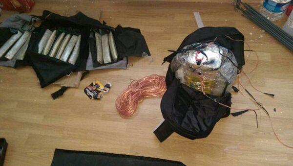 Ankara'da canlı bomba düzenekleri yakalandı - Sputnik Türkiye