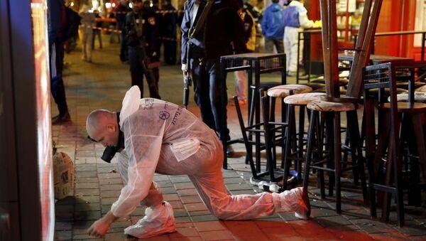 Tel Aviv'deki bar saldırısı - Sputnik Türkiye