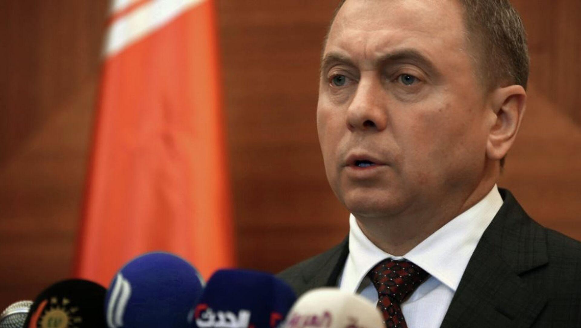 Belarus Dışişleri Bakanı Vladimir Makey - Sputnik Türkiye, 1920, 31.05.2021