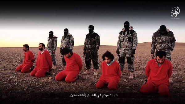 IŞİD'den İngiltere'ye tehdit videosu - Sputnik Türkiye