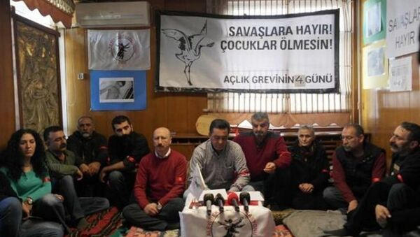Alevi Bektaşi Federasyonu açlık grevinde - Sputnik Türkiye