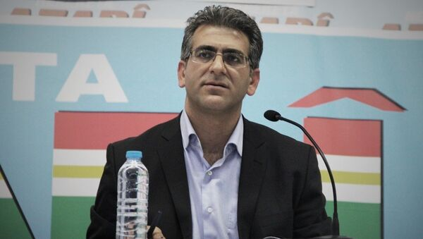 HDP Van Milletvekili Adem Geveri - Sputnik Türkiye