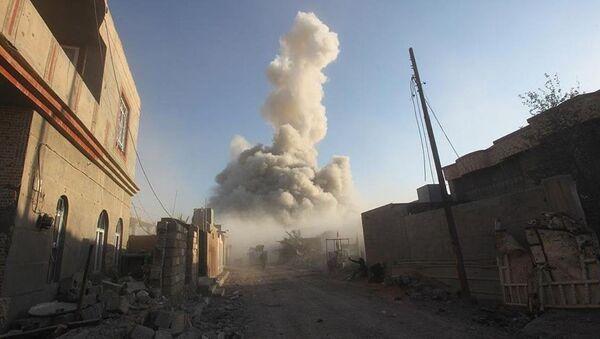 IŞİD, Ramadi Devlet Hastanesi'ni havaya uçurdu - Sputnik Türkiye