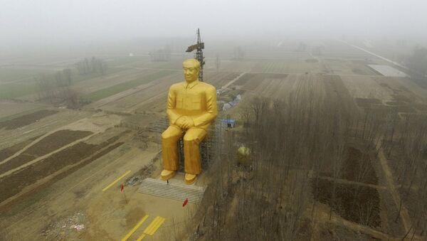Mao heykeli - Sputnik Türkiye