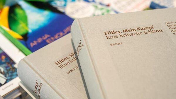 Hitler Kavgam kitabı - Sputnik Türkiye