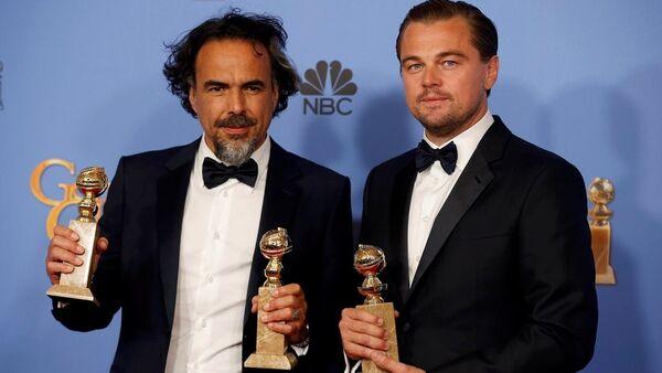 Alejandro Gonzalez Inarritu- Leonardo Di Caprio - Sputnik Türkiye