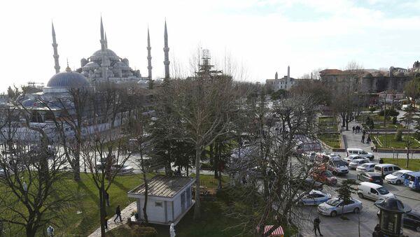 Sultanahmet'te patlama  - Sputnik Türkiye