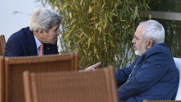 ABD Dışişleri Bakanı John Kerry - İran Dışişleri Bakanı Cevad Zarif - Sputnik Türkiye