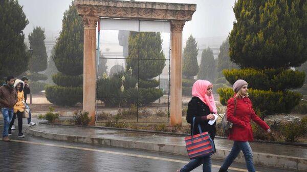 Suriye'de Humus Baas Üniversitesi - Sputnik Türkiye