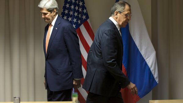 ABD Dışişleri Bakanı John Kerry - Rusya Dışişleri Bakanı Sergey Lavrov - Sputnik Türkiye