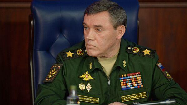 Rusya Genelkurmay Başkanı Valeriy Gerasimov - Sputnik Türkiye