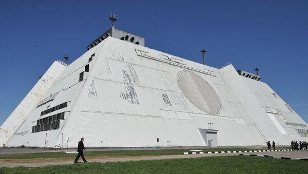 Radar of missile defense system of Moscow - Sputnik Türkiye