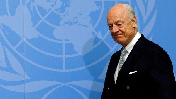 Birleşmiş Milletler'in Suriye Özel Temsilcisi Staffan De Mistura - Sputnik Türkiye