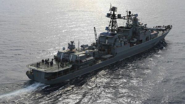 Denizaltısavar Koramiral Kulakov gemisi - Sputnik Türkiye