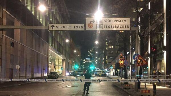 Stockholm'ün merkezinde patlama - Sputnik Türkiye
