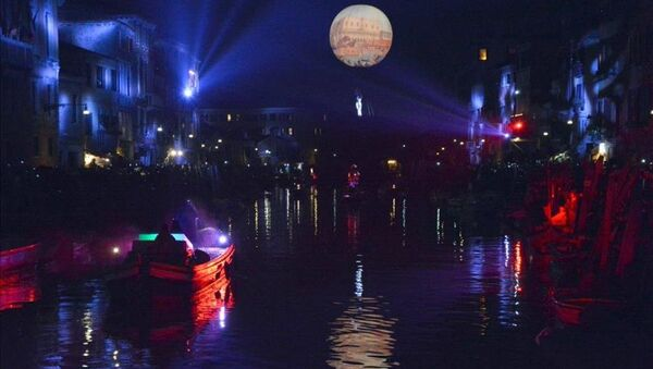 Venedik'te 'karnaval' zamanı - Sputnik Türkiye