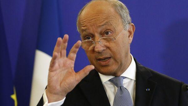 Fransa Dışişleri Bakanı Laurent Fabius - Sputnik Türkiye