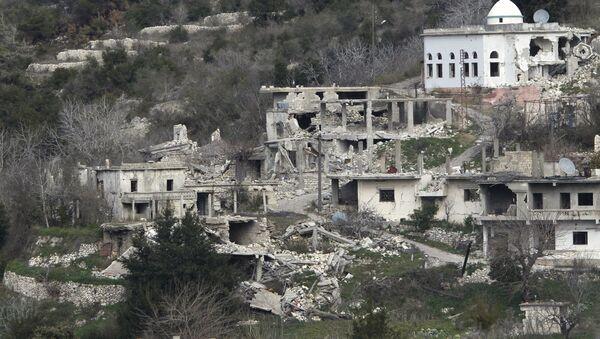 Suriye ordusu Rabia kentini ele geçirdi - Sputnik Türkiye