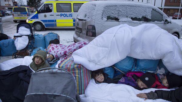 İsveç sığınmacı - Sputnik Türkiye