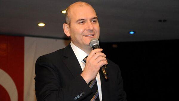 Çalışma ve Sosyal Güvenlik Bakanı Süleyman Soylu - Sputnik Türkiye