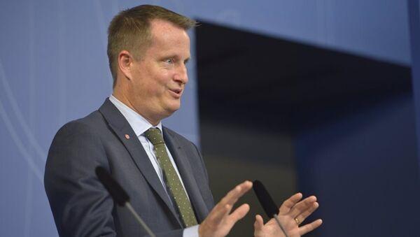 İsveç İçişleri Bakanı Anders Ygeman - Sputnik Türkiye