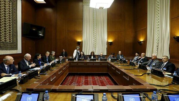 Cenevre'deki Suriye görüşmeleri - Sputnik Türkiye