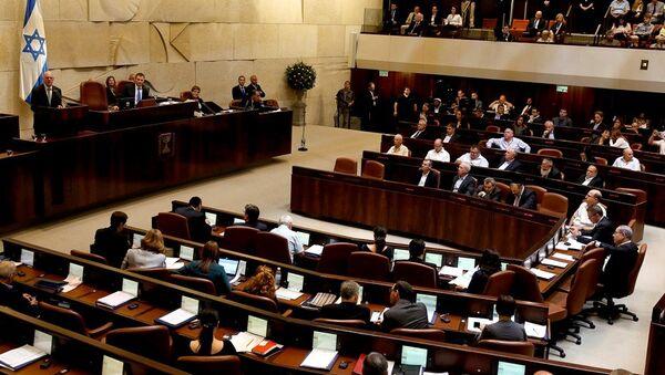 İsrail parlamentosu - Sputnik Türkiye