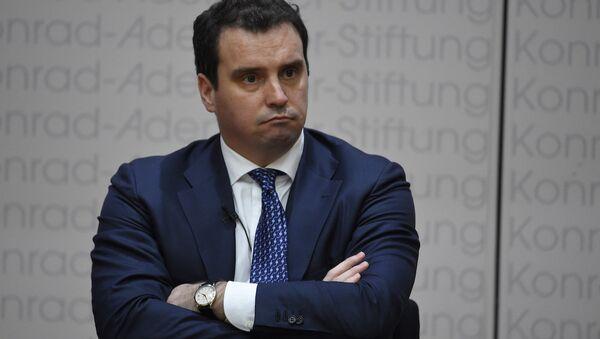 Ukrayna Ekonomi Bakanı Aivaras Abromavicius - Sputnik Türkiye
