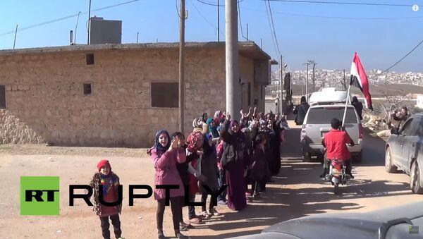 Suriye kutlama / video haber - Sputnik Türkiye