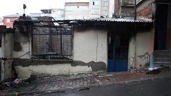 Esenler yangın - Sputnik Türkiye