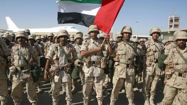 Birleşik Arap Emirlikleri askerleri - Sputnik Türkiye