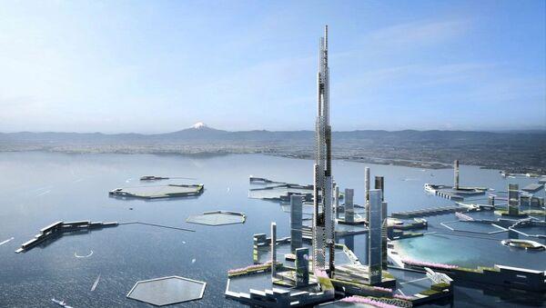 'Sky Mile Tower' adı verilecek gökdelen - Sputnik Türkiye
