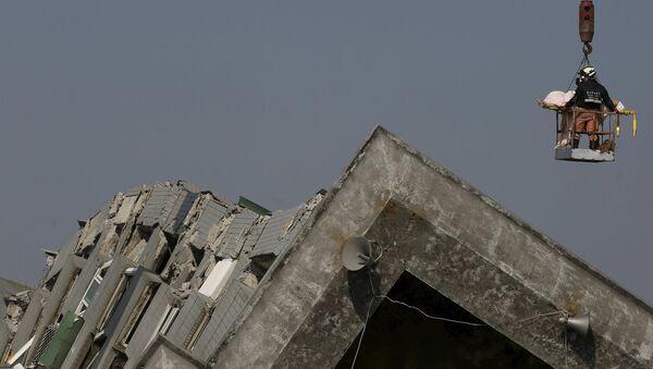 Tayvan'da deprem - Sputnik Türkiye