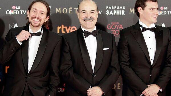 Podemos lideri Pablo Iglesias, Goya ödül töreninde - Sputnik Türkiye