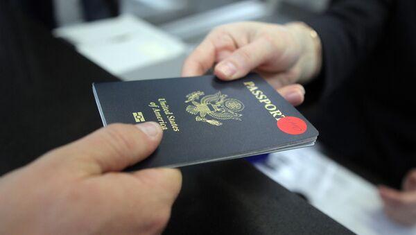 ABD pasaportu - Sputnik Türkiye