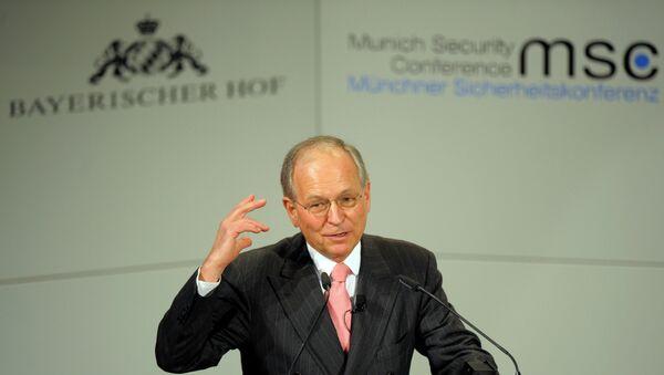 Münih Güvenlik Konferansı Başkanı Wolfgang Ischinger - Sputnik Türkiye