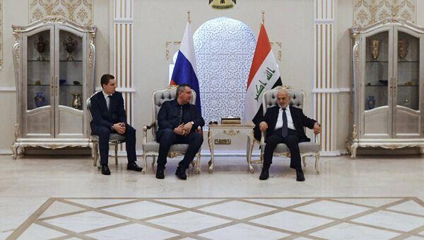 Rusya Başbakan Yardımcısı Dmitriy Rogozin Irak'ta - Sputnik Türkiye