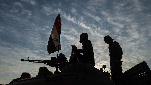 Suriye ordusu Keseb'te - Sputnik Türkiye