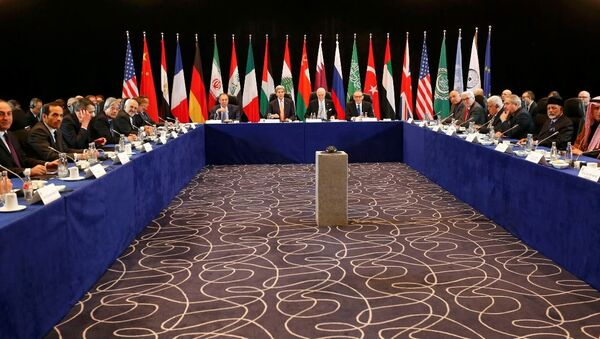 Uluslararası Suriye Destek Grubu toplantısı Münih'te başladı - Sputnik Türkiye