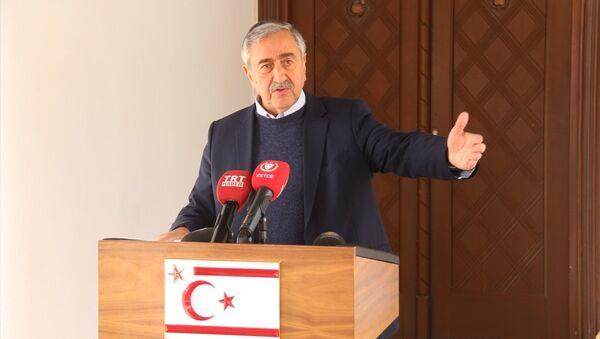 KKTC Cumhurbaşkanı Mustafa Akıncı - Sputnik Türkiye